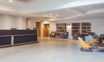 reception lounge doubletree by hilton oxford belfry