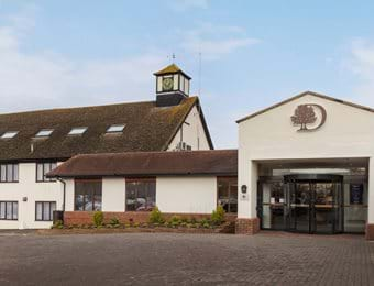 exterior doubletree by hilton oxford belfry
